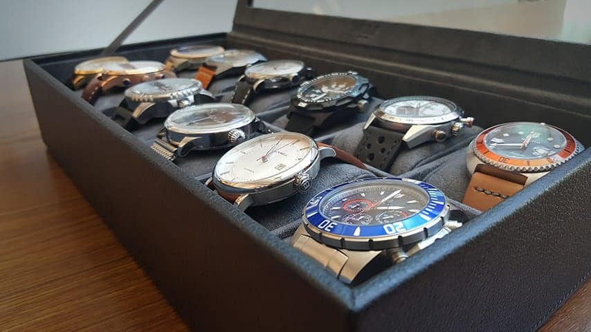 Dudefluencer: A year of Watch Gang watches