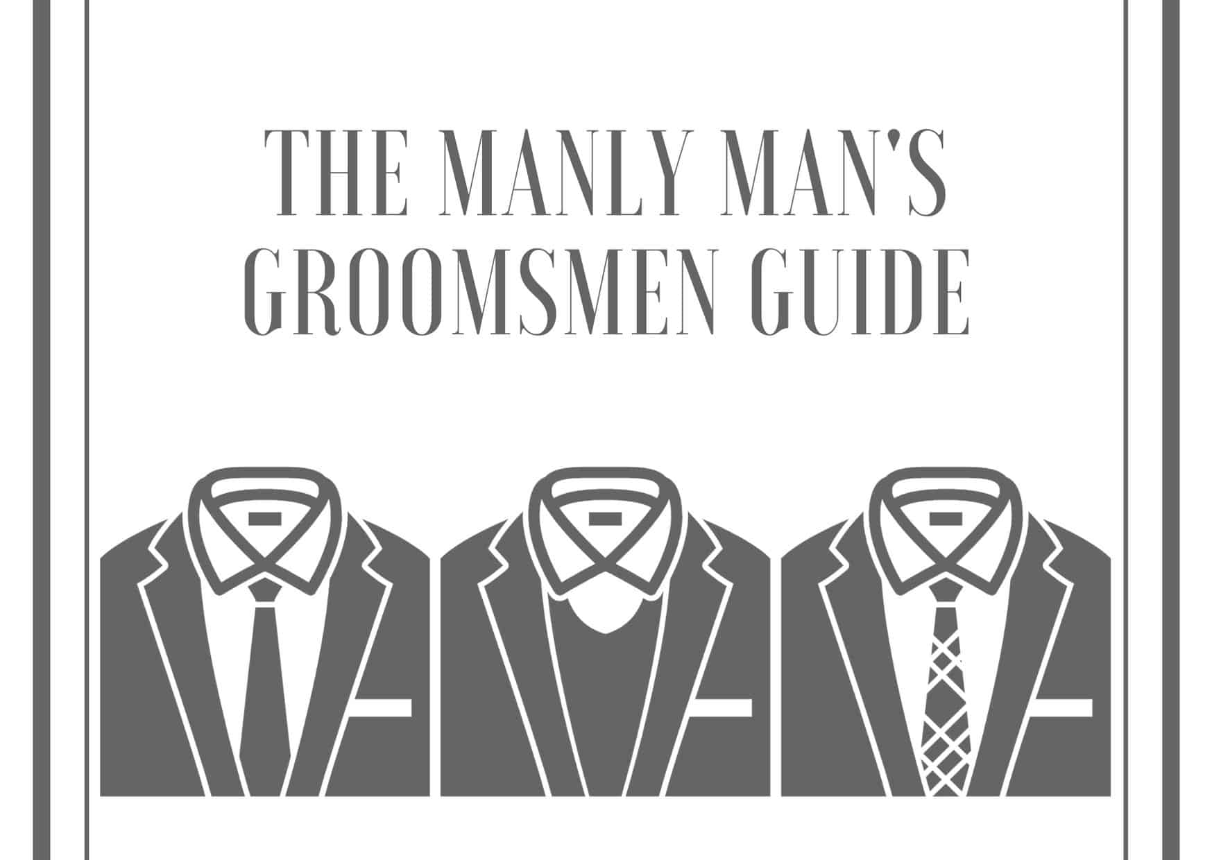 Dudefluencer Groomsmen Guide