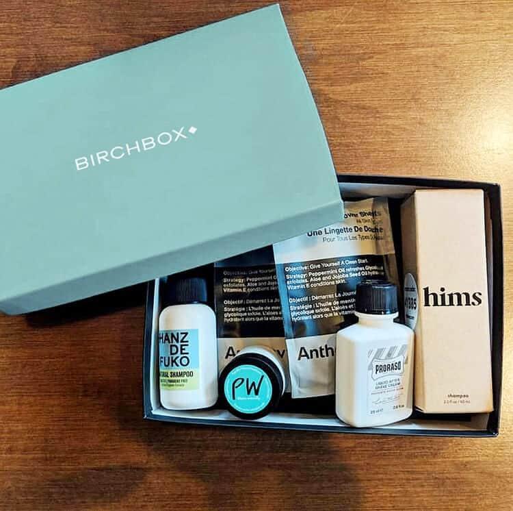 Dudefluencer: BirchBox for Men
