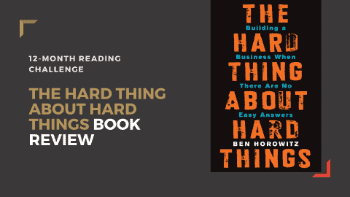 Dudefluencer: The Hard Thing About Hard Things Review