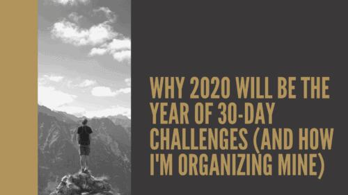 Dudefluencer: 30-day challenge