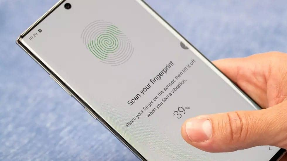 Dudefluencer: Fingerprint Unlocking