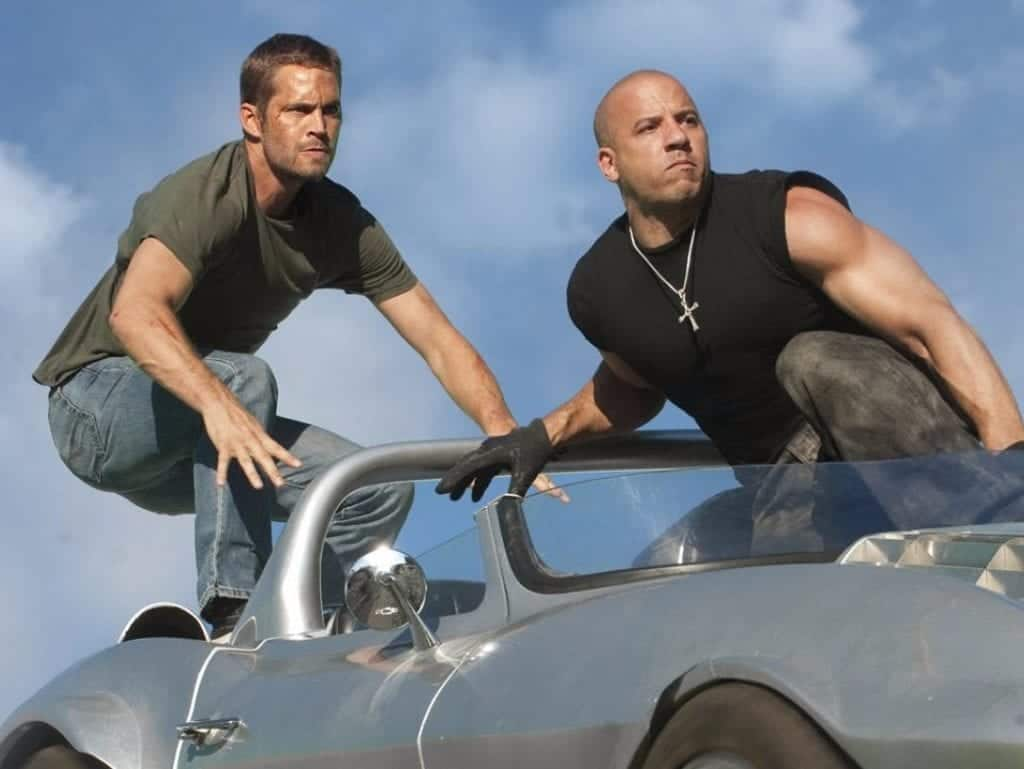 Dudefluencer: Paul Walker and Vin Diesel