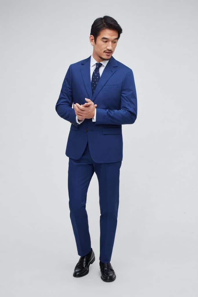 Dudefluencer: Bonobos Blue Suit