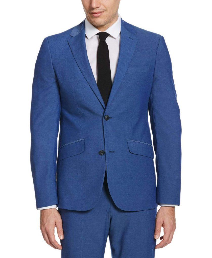 Dudefluencer: Perry Ellis Blue Suit