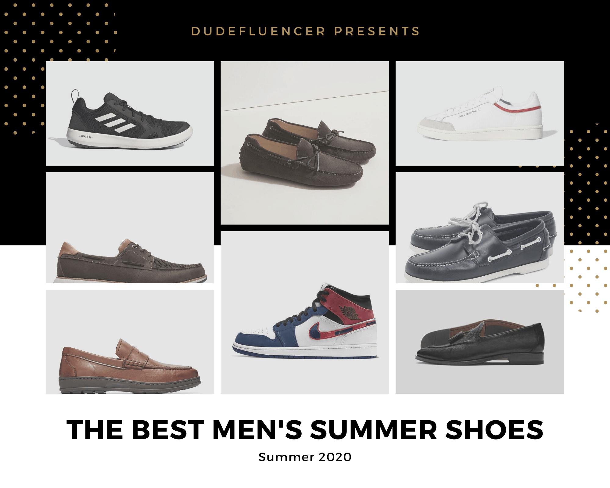 Dudefluencer: Best Men's Summer Shoes