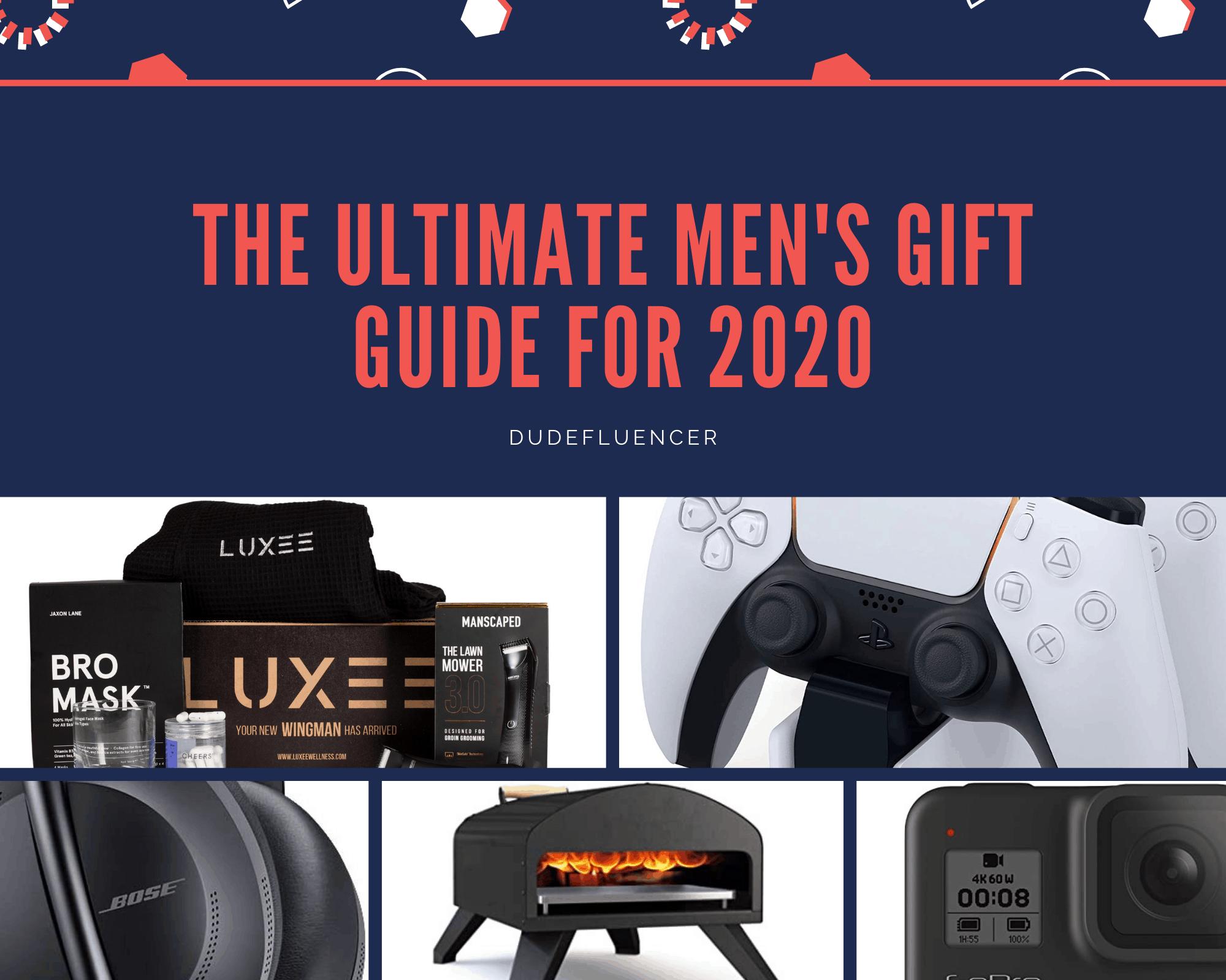 Dudefluencer: Men's Gift Guide for 2020