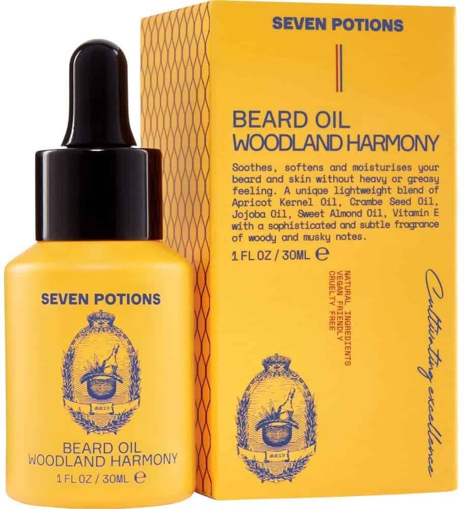 Dudefluencer: Seven Potions Beard Oil