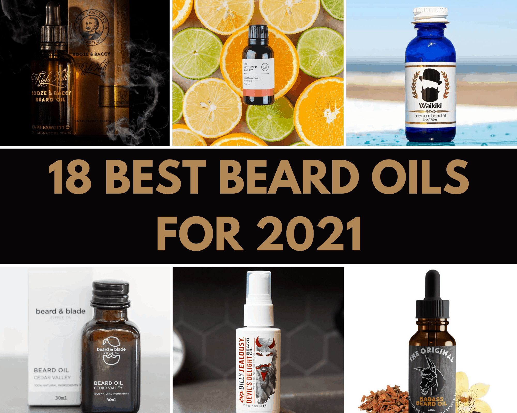 Dudefluencer: Best Beard Oils