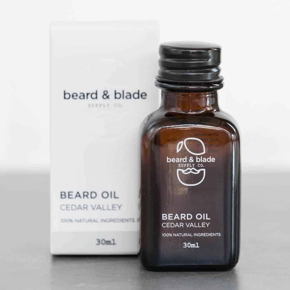 Dudefluencer: Beard and Blade Cedar Valley Beard Oil