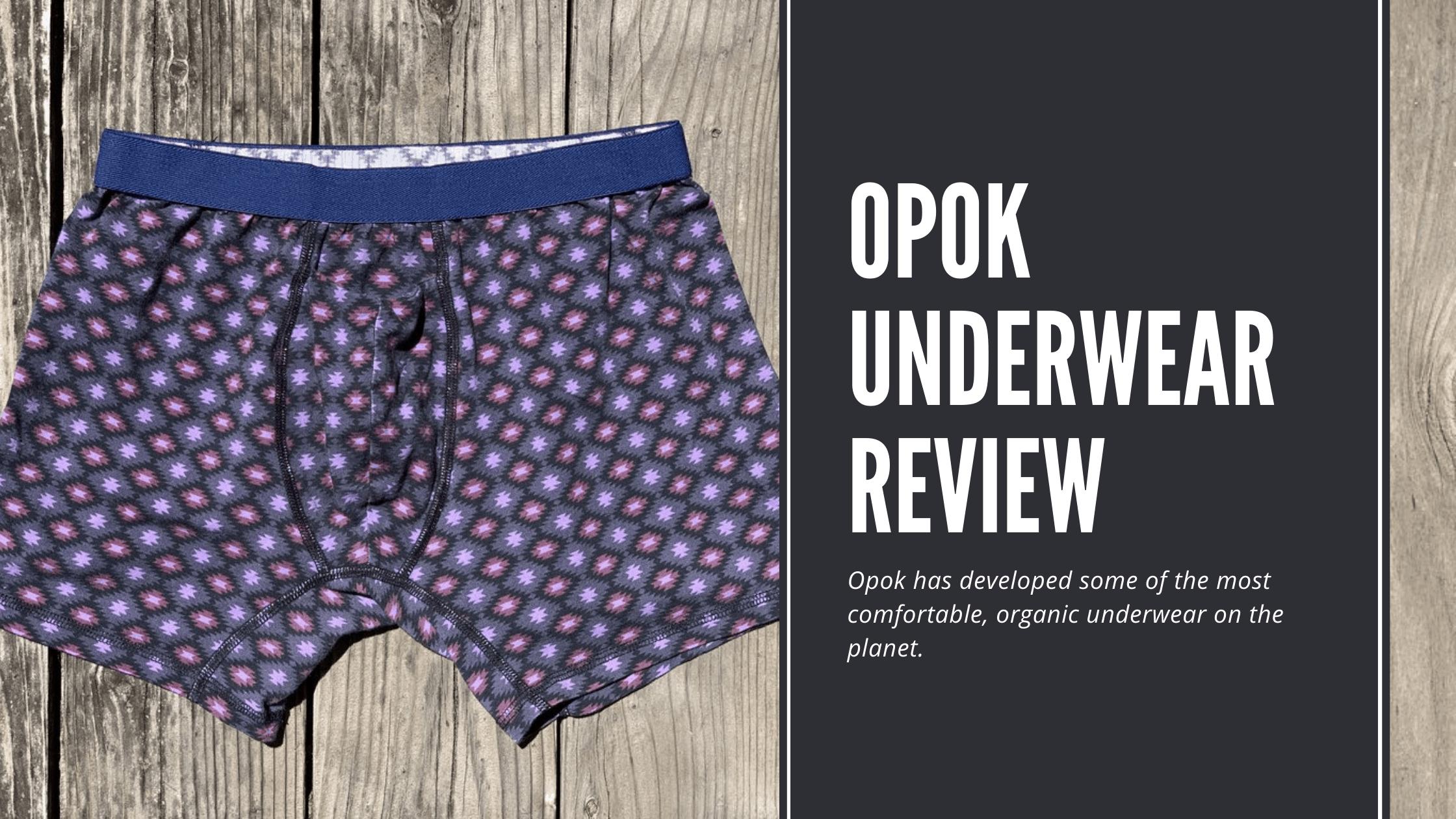 Dudefluencer: Opok Underwear Review
