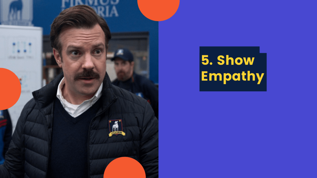 Dudefluencer: Ted Lasso Be Empathetic