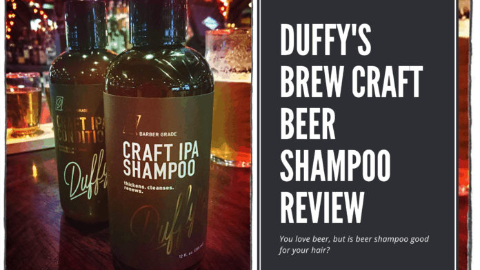 Dudefluencer: Duffy's Brew Craft Beer Shampoo