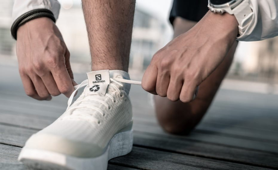 Dudefluencer: Salomon Recycled Running Shoe