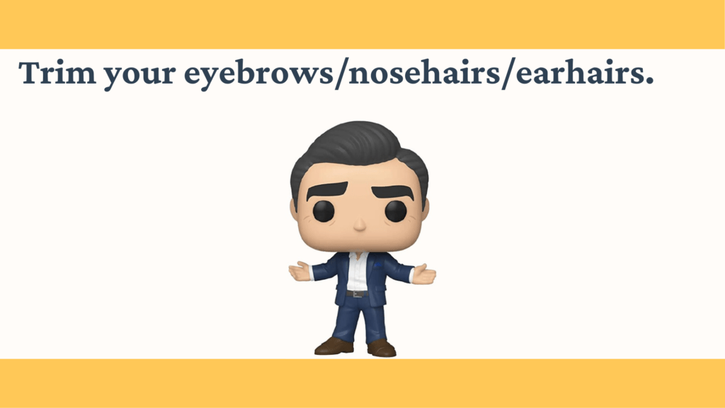 Dudefluencer: Trim Your Nose Hairs