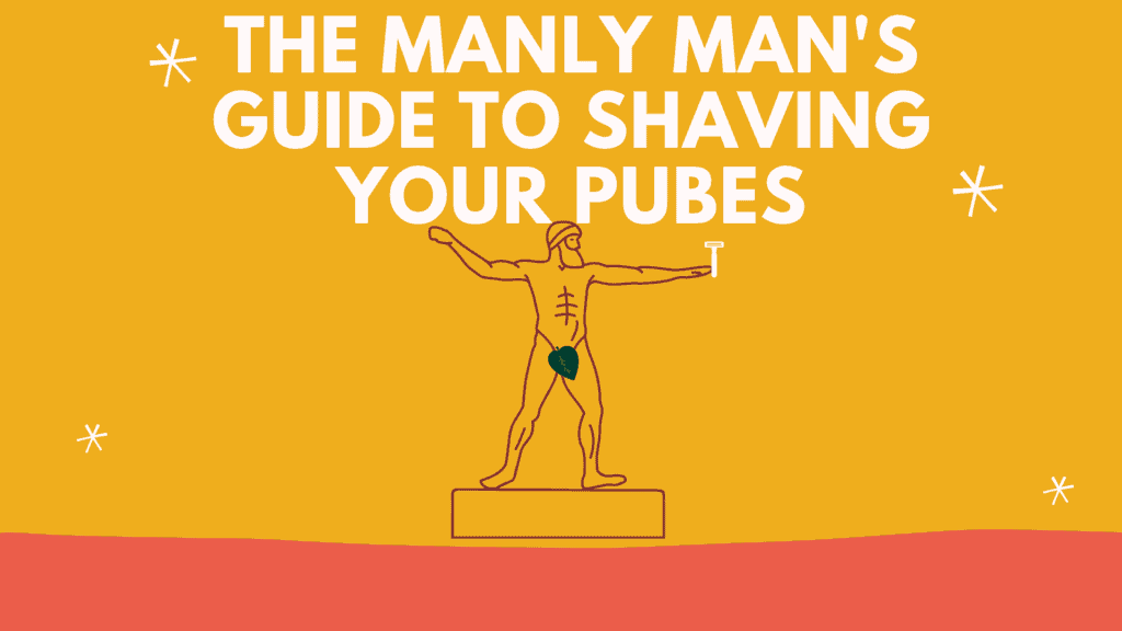 Dudefluencer: Shave your pubes