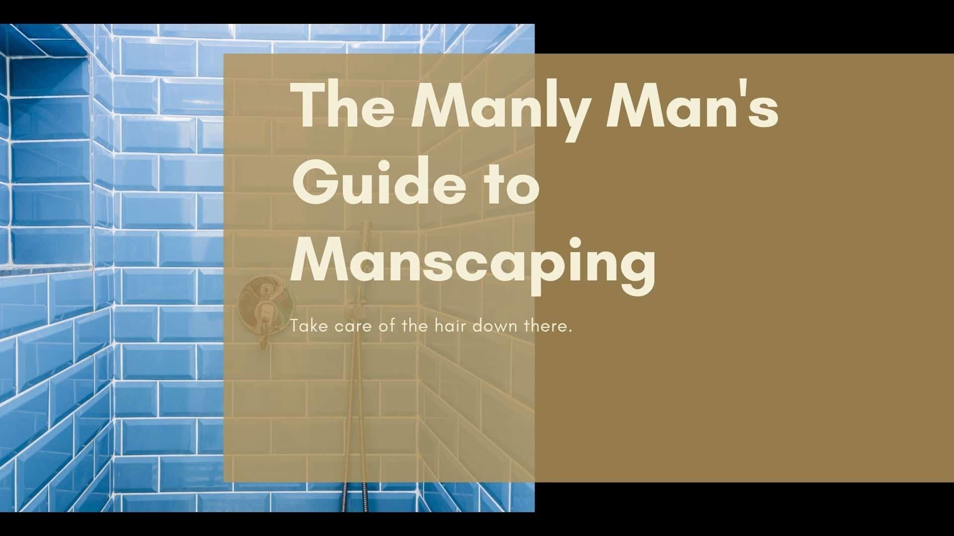 Dudefluencer: Manscaping Guide
