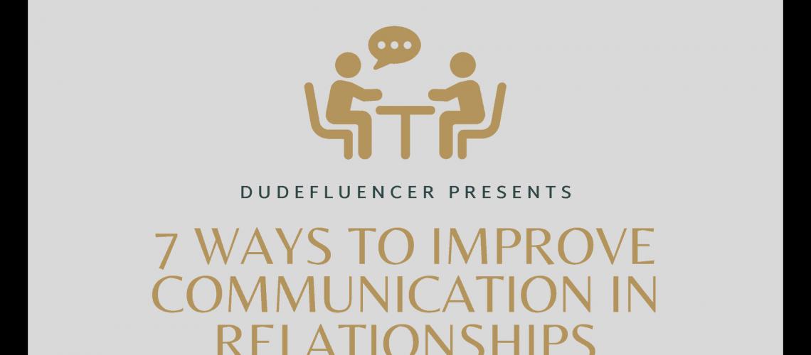 Dudefluencer: Improve Communication in Relationships