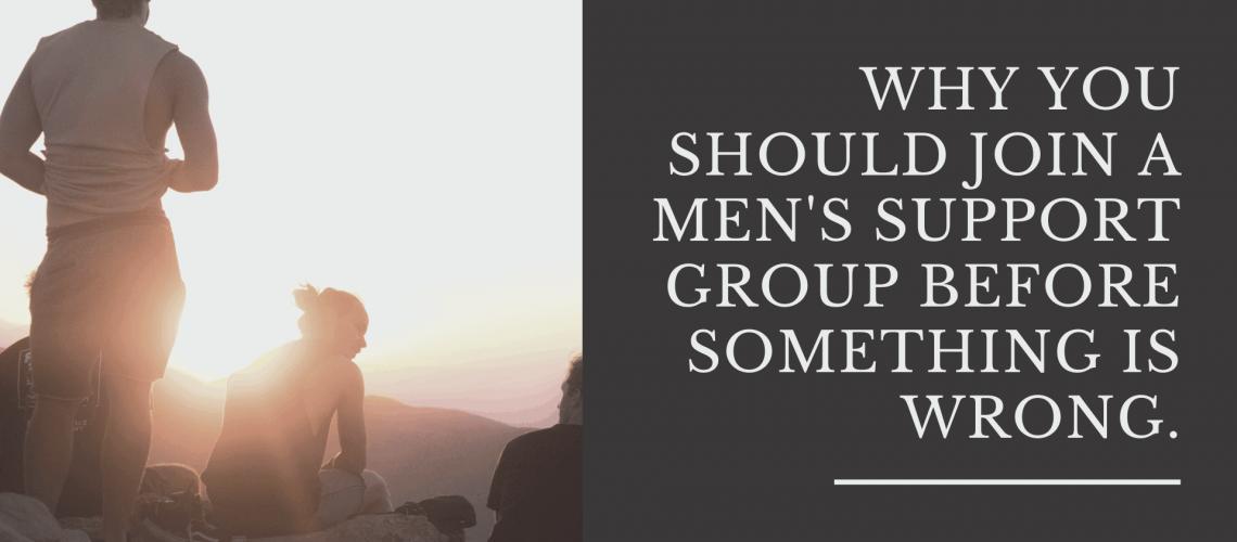 Dudefluencer: Men's Support Groups