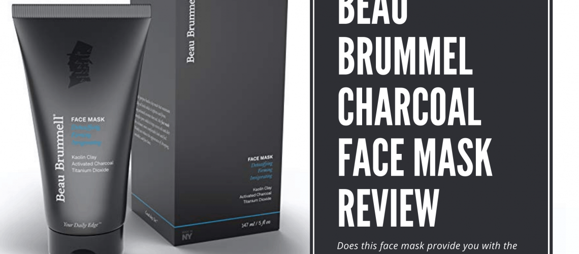 Dudefluencer: Beau Brummel Charcoal Face Mask