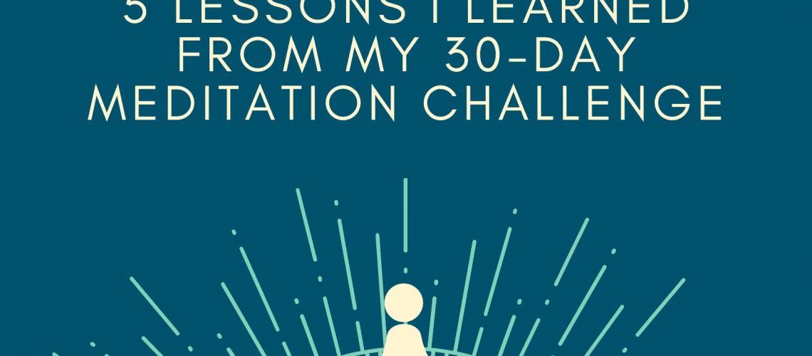 Dudefluencer: 30 day meditation challenge
